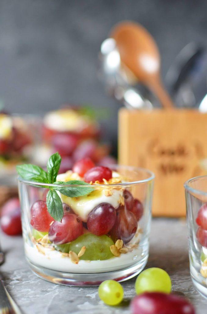Quick and healthy summer dessert