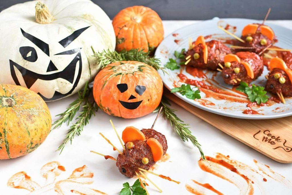 Halloween Bloody Baked Rats Recipes–Best Halloween Bloody Baked Rats–Easy Halloween Bloody Baked Rats