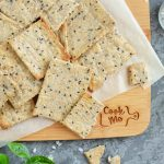 How to serve Homemade Whole Wheat Crackers