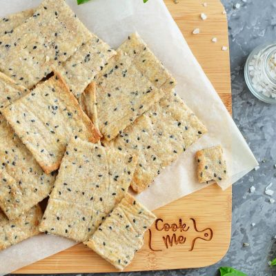 Homemade Crackers Recipe-How To Make Homemade Crackers-Easy Homemade Crackers