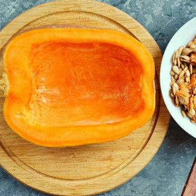 Homemade Pumpkin Puree recipe - step 2