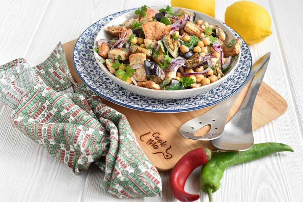 Indian Eggplant Salad Recipes–Indian Eggplant Salad–Easy Indian Eggplant Salad