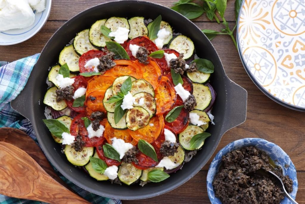 How to serve Mediterranean Vegetable Rice