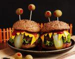 Halloween Monster Burgers