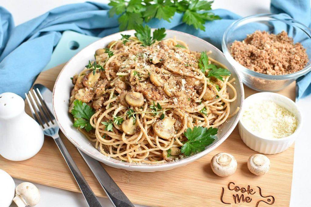 Mushroom and Thyme Butter Spelt Spaghetti Recipes–Mushroom and Thyme Butter Spelt Spaghetti–Easy Mushroom and Thyme Butter Spelt Spaghetti