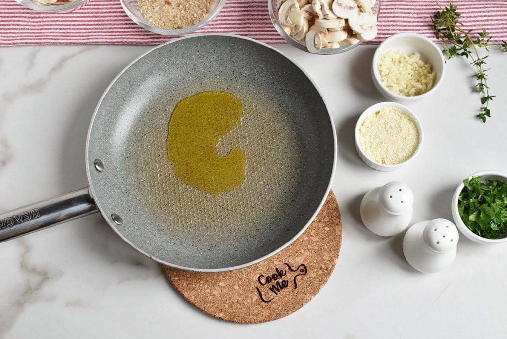 Mushroom and Thyme Butter Spelt Spaghetti recipe - step 2