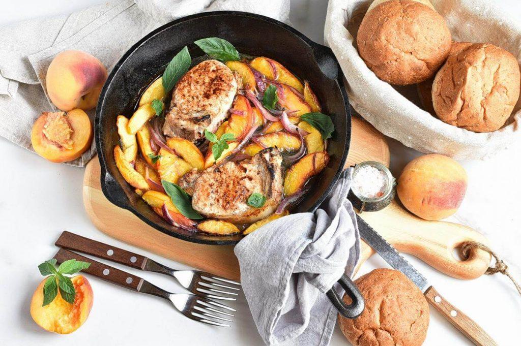 How to serve Peach Pork Chops