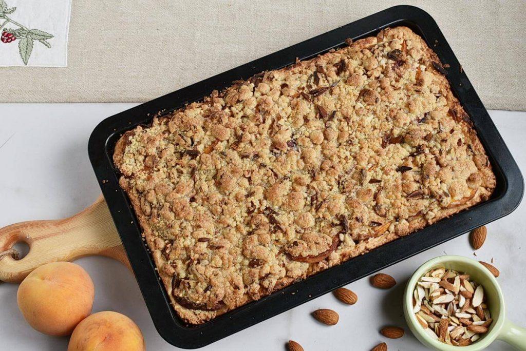 Peach Streusel Slab Pie recipe - step 9