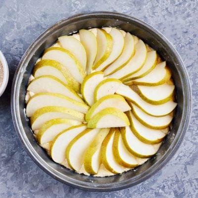 Pear Cake with Cinnamon Sugar recipe - step 8