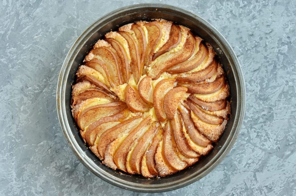 Pear Cake with Cinnamon Sugar recipe - step 9
