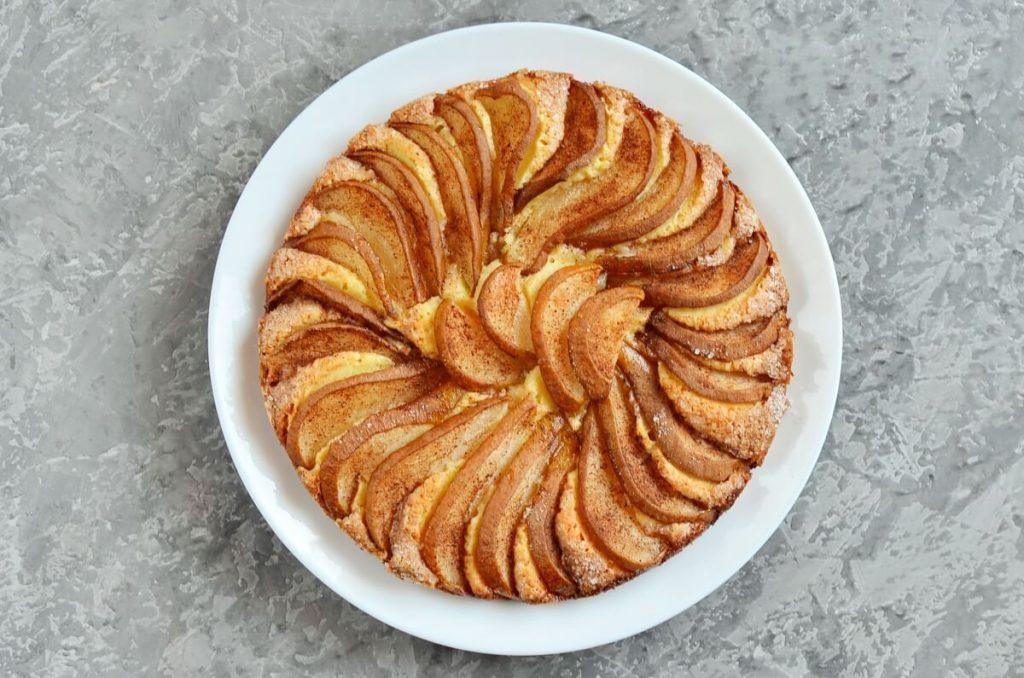 Pear Cake with Cinnamon Sugar recipe - step 10