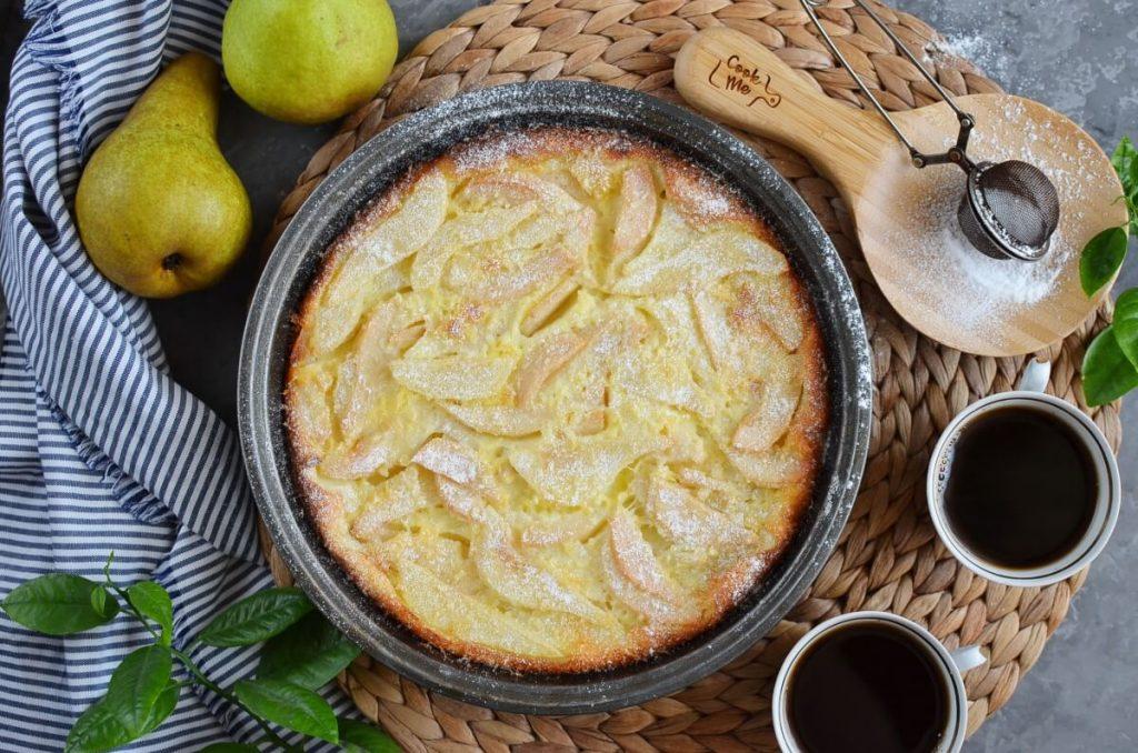 Best Pear Custard Pie recipe - step 6