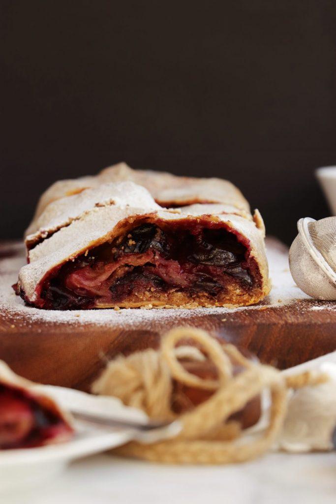 Fantastic plum dessert