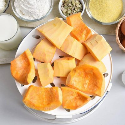 Polenta Pumpkin Cake recipe - step 1