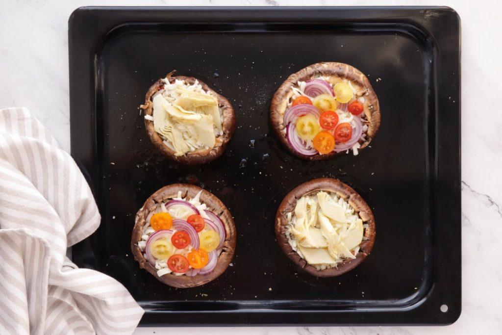 Portobello Mushroom Pizza recipe - step 4