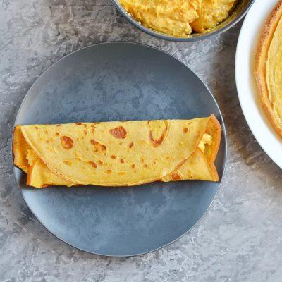 Pumpkin Cheesecake Crêpes recipe - step 7