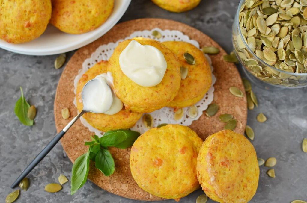 How to serve Pumpkin & Cheese Scones