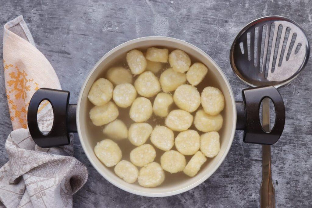 Ricotta Dumplings with Pumpkin recipe - step 6