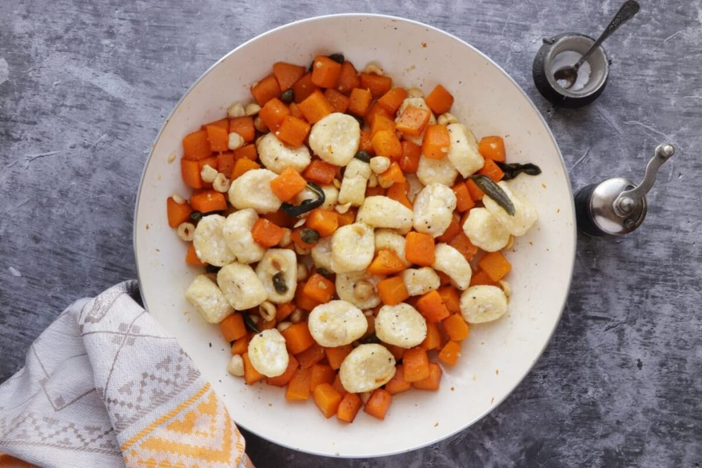 Ricotta Dumplings with Pumpkin recipe - step 7