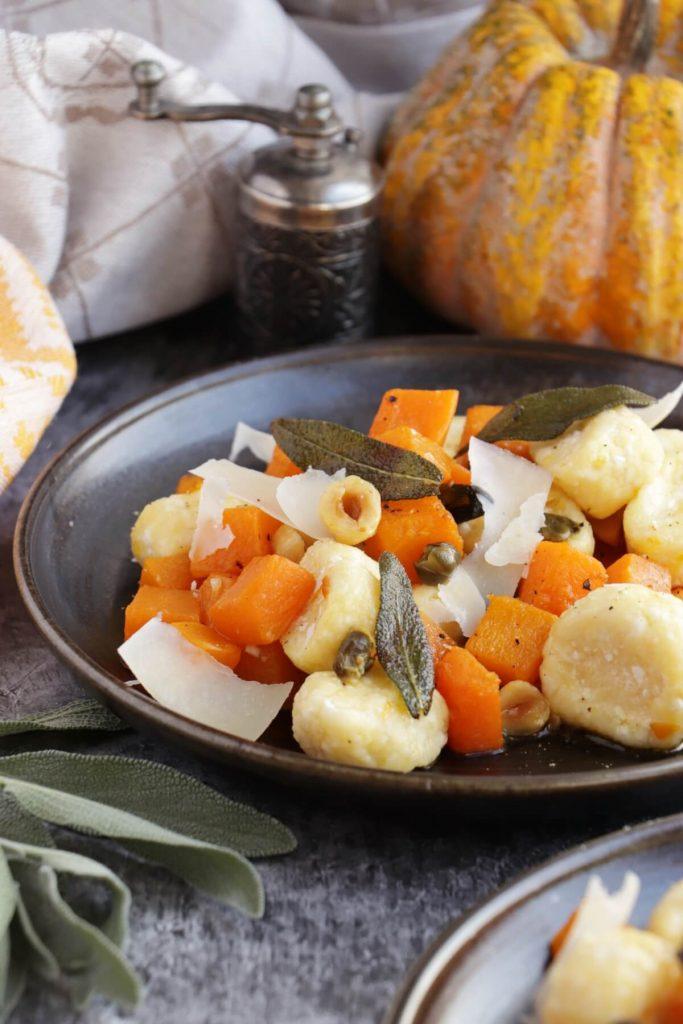Ricotta Dumplings with Pumpkin