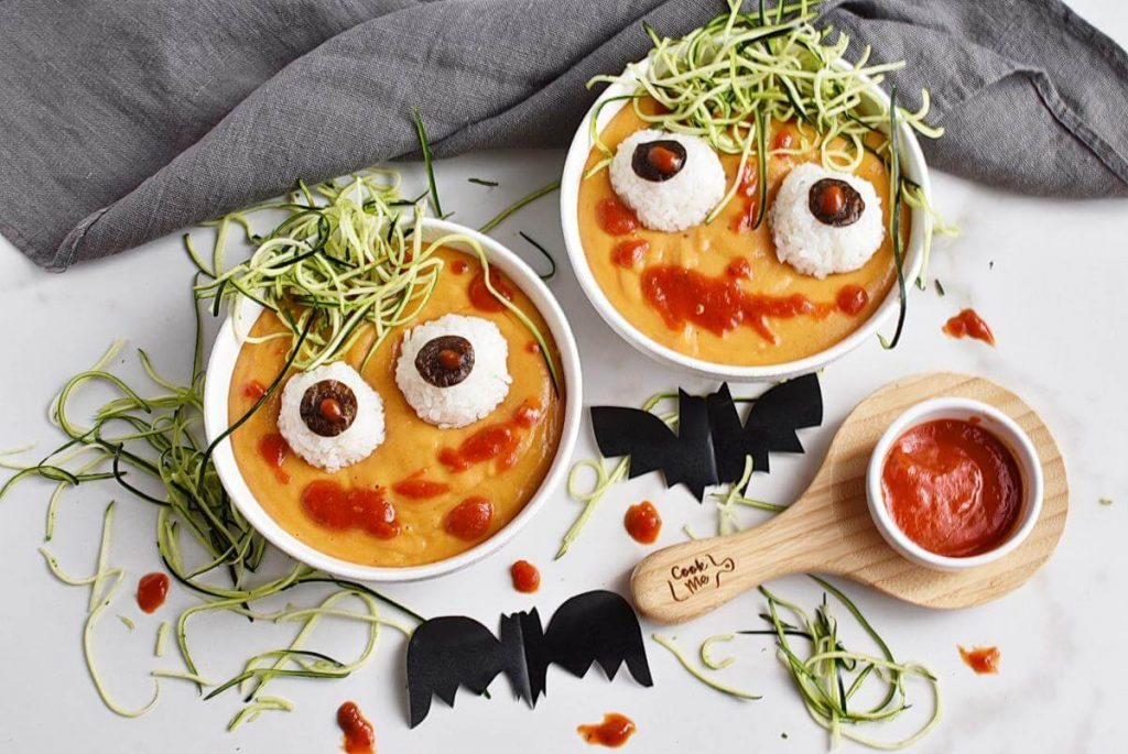 Spooky Halloween Monster Mash Soup Recipes–Middle Spooky Halloween Monster Mash Soup–Easy Spooky Halloween Monster Mash Soup