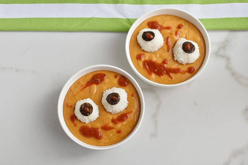 Spooky Halloween Monster Mash Soup recipe - step 7