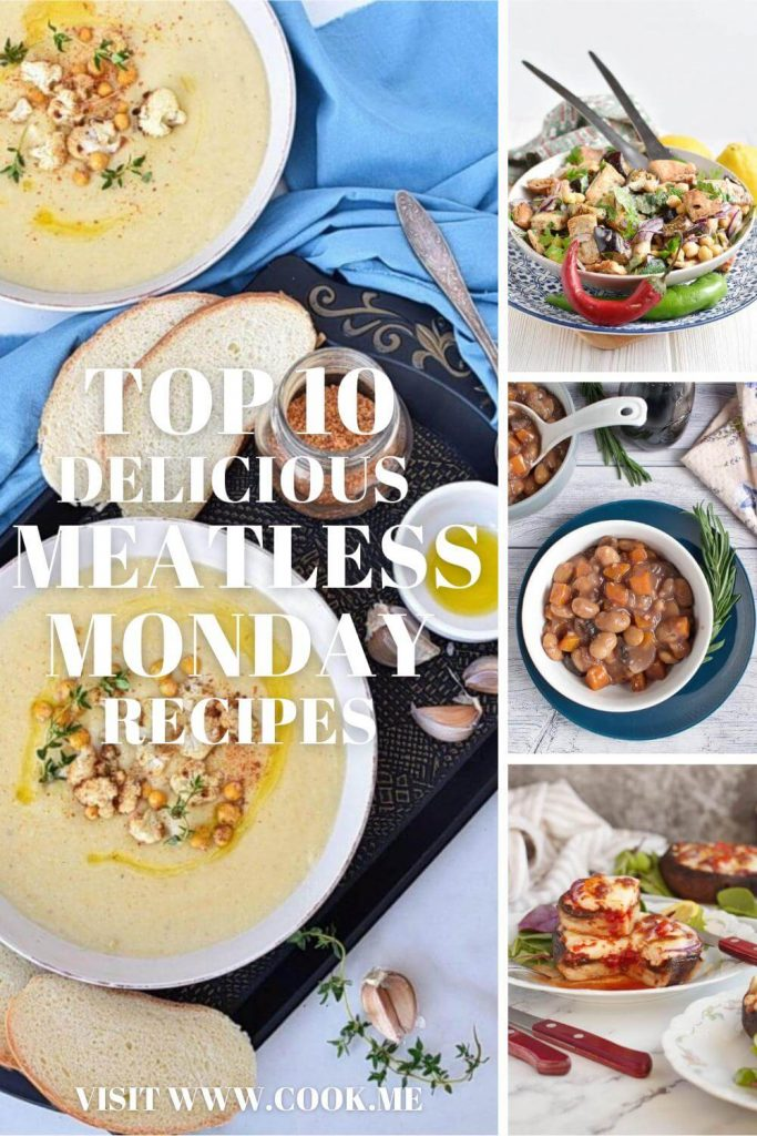 TOP 10 Delicious Meatless Monday Recipes