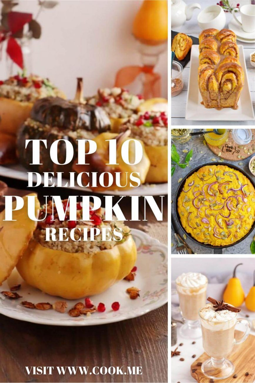 TOP Pumpkin Recipes - Best Pumpkin Recipes - Fresh Pumpkin Recipe Ideas