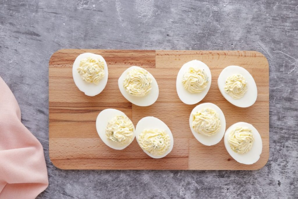 The Best Salmon Deviled Eggs recipe - step 5