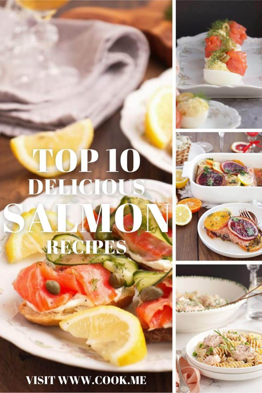 Top 10 Delicious Salmon Recipes - The Best Salmon Recipes - Salmon Recipe - Honey Garlic Salmon