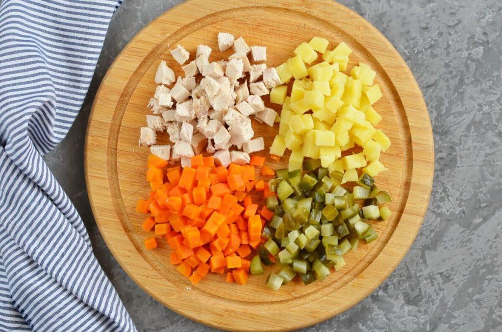 Boeuf Salad (Romanian Salad) recipe - step 3