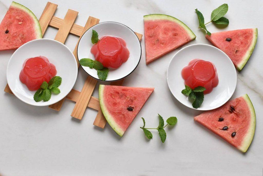 How to serve Vegan Watermelon Jello