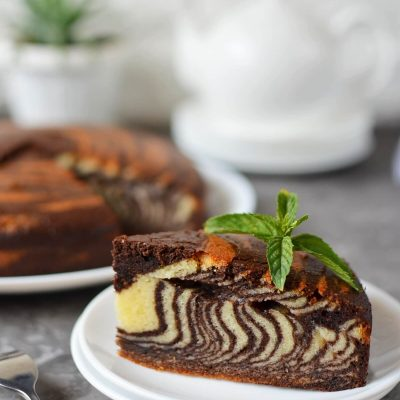 Zebra Cake Recipe-How To Make Zebra Cake-Delicious Zebra Cake
