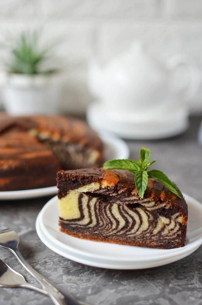 My favorite striped cake