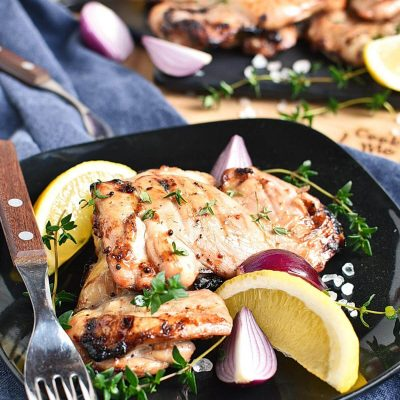 Apple Cider Thyme Grilled Chicken Recipes– Apple Cider Thyme Grilled Chicken–Easy Apple Cider Thyme Grilled Chicken
