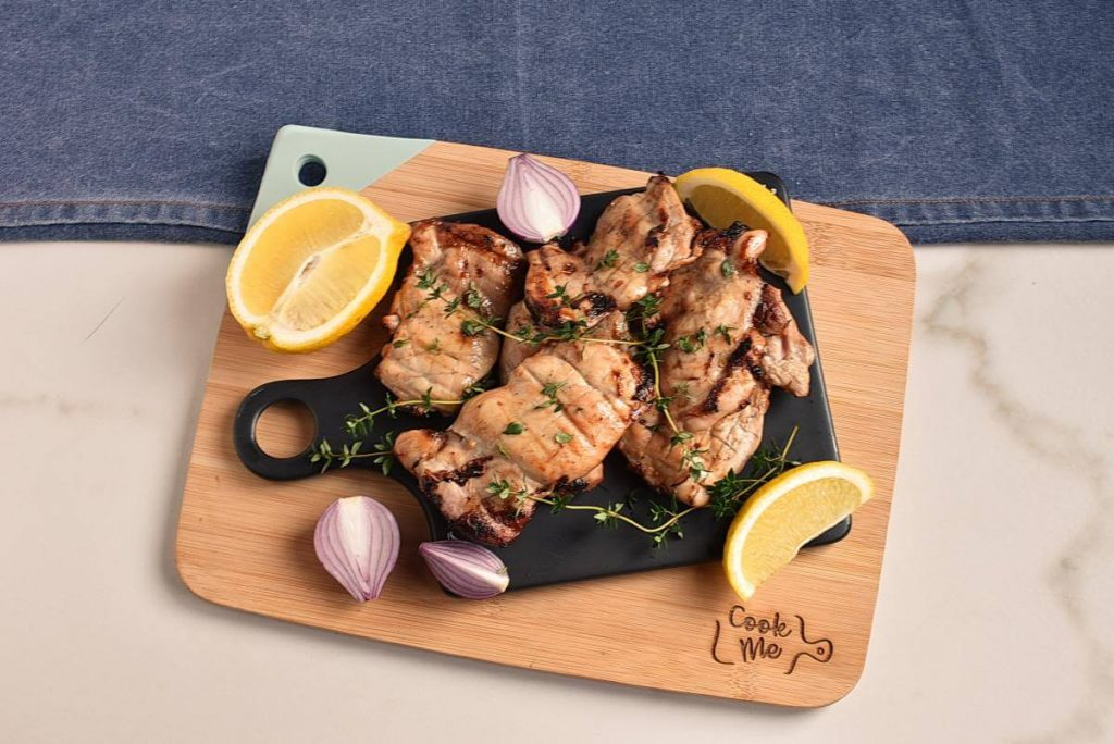How to serve Apple Cider Thyme Grilled Chicken