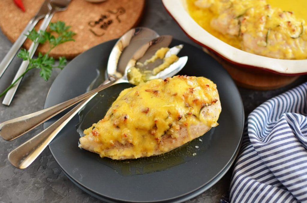 How to serve Baked Garlic Butter Chicken
