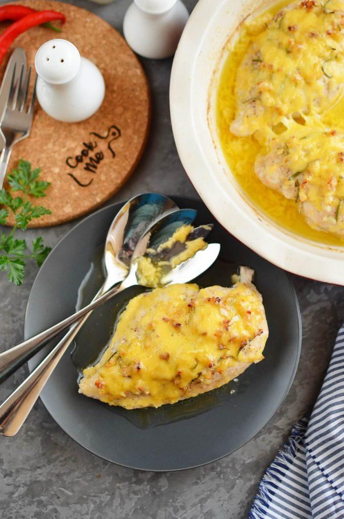 Buttery garlicky chicken
