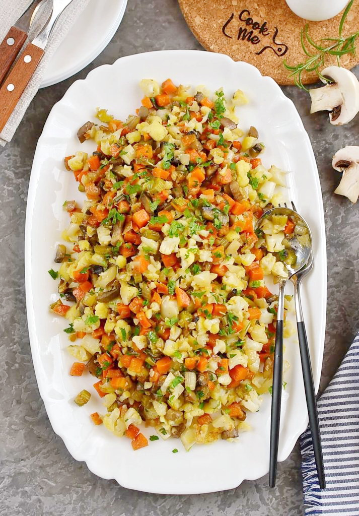 Delicious low carb stuffing
