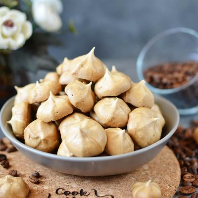 Coffee Meringues Recipe-How To Make Coffee Meringues-Delicious Coffee Meringues