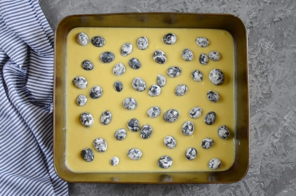 Concord Grape Cornmeal Cake recipe - step 7