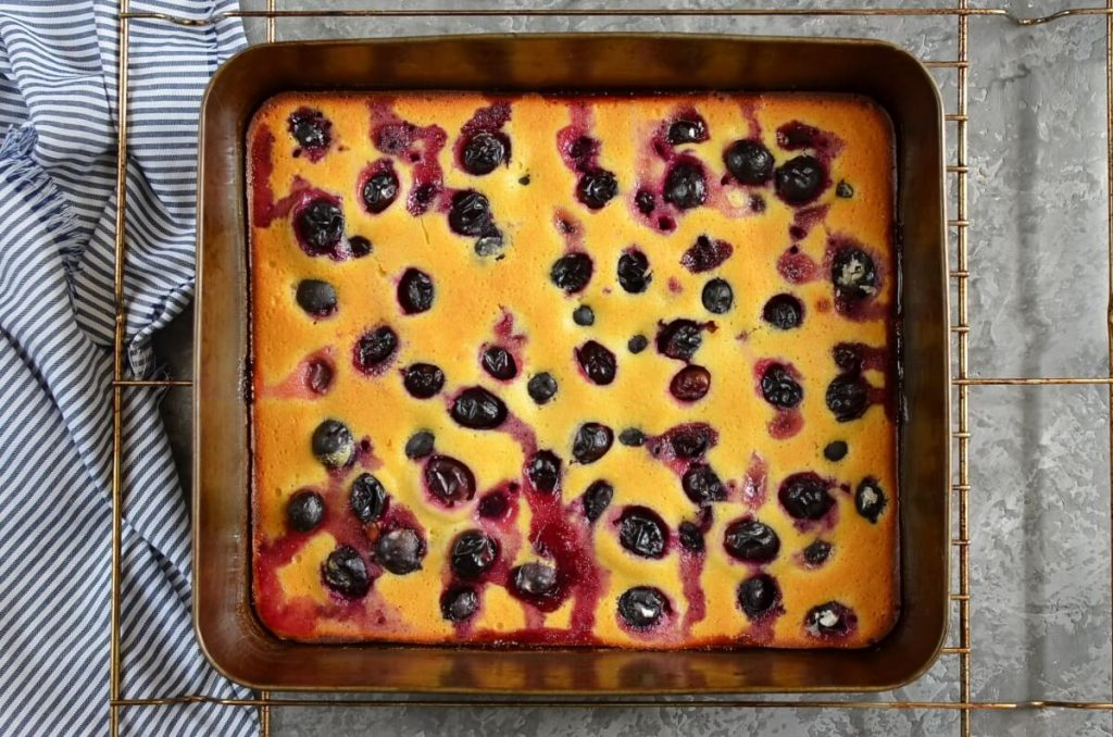 How to serve Concord Grape Cornmeal Cake