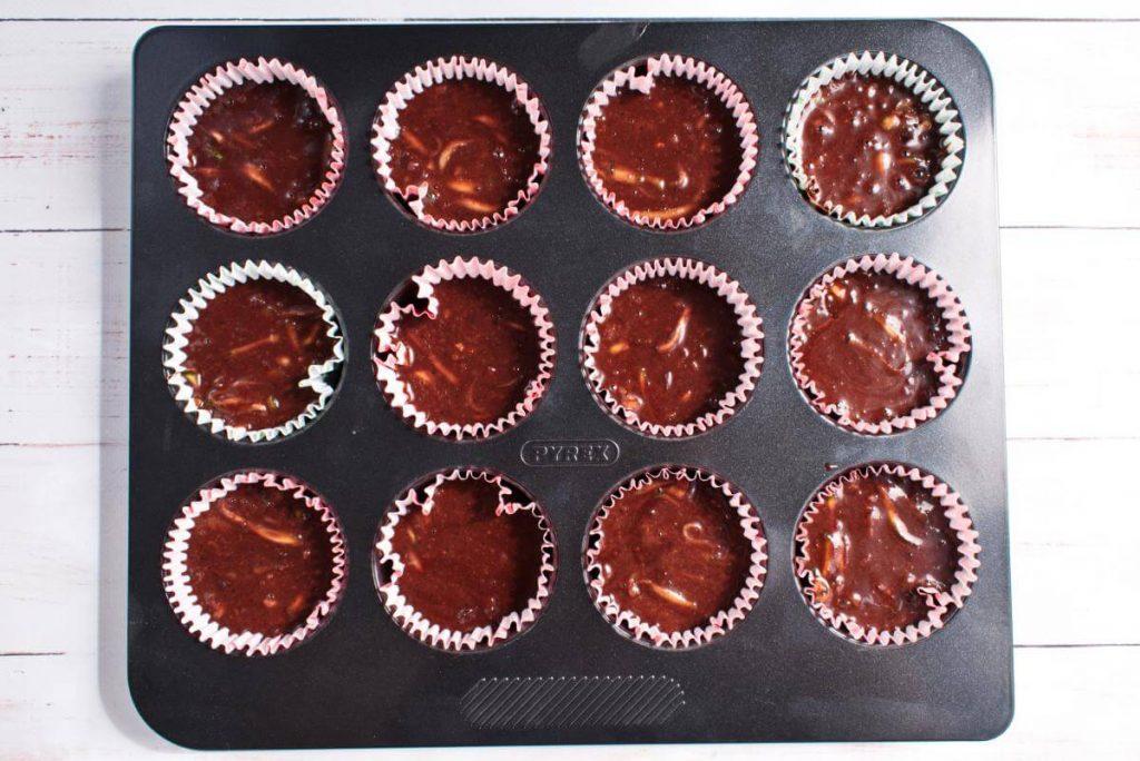 Double Chocolate Zucchini Muffins recipe - step 7