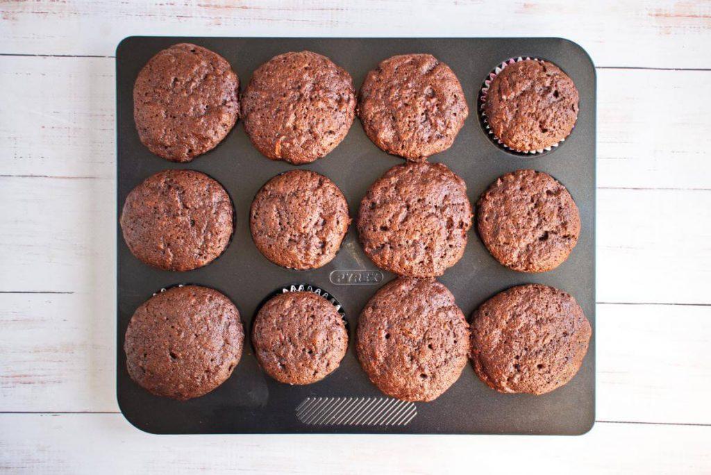 Double Chocolate Zucchini Muffins recipe - step 8