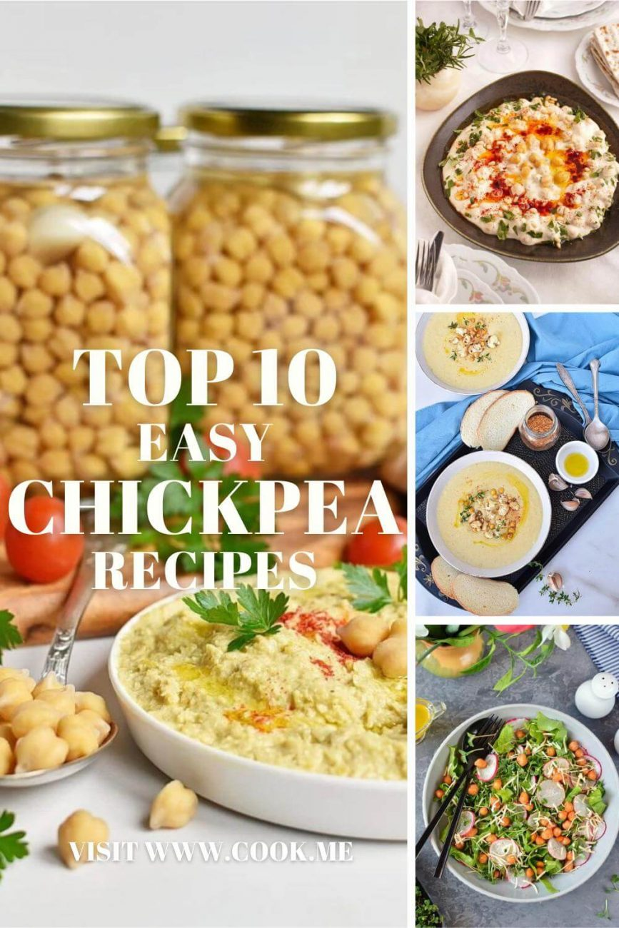 Easy Chickpea Recipes - Easy Recipes to Make with a Can of Chickpeas