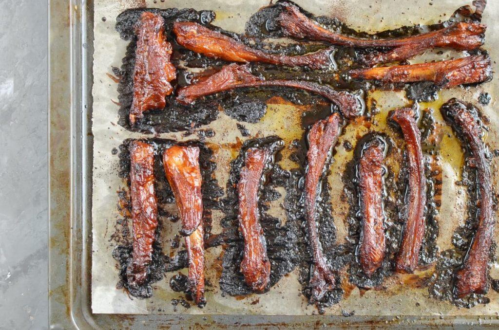 Easy Sticky Lamb Ribs recipe - step 5