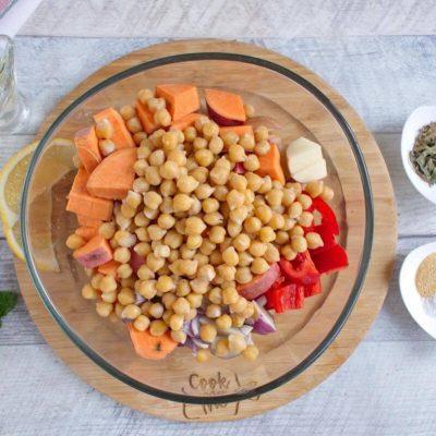 Easy Vegan Sheet Pan Dinner recipe - step 3