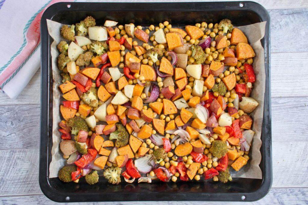 Easy Vegan Sheet Pan Dinner recipe - step 5