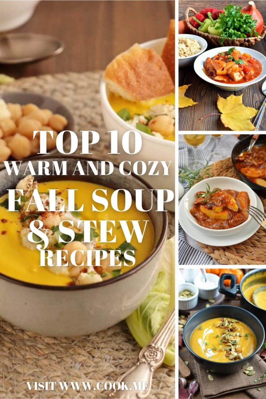 Fall Soups and Stews Recipes - Best Fall Soup Recipes — Easy Autumn Soups and Stews