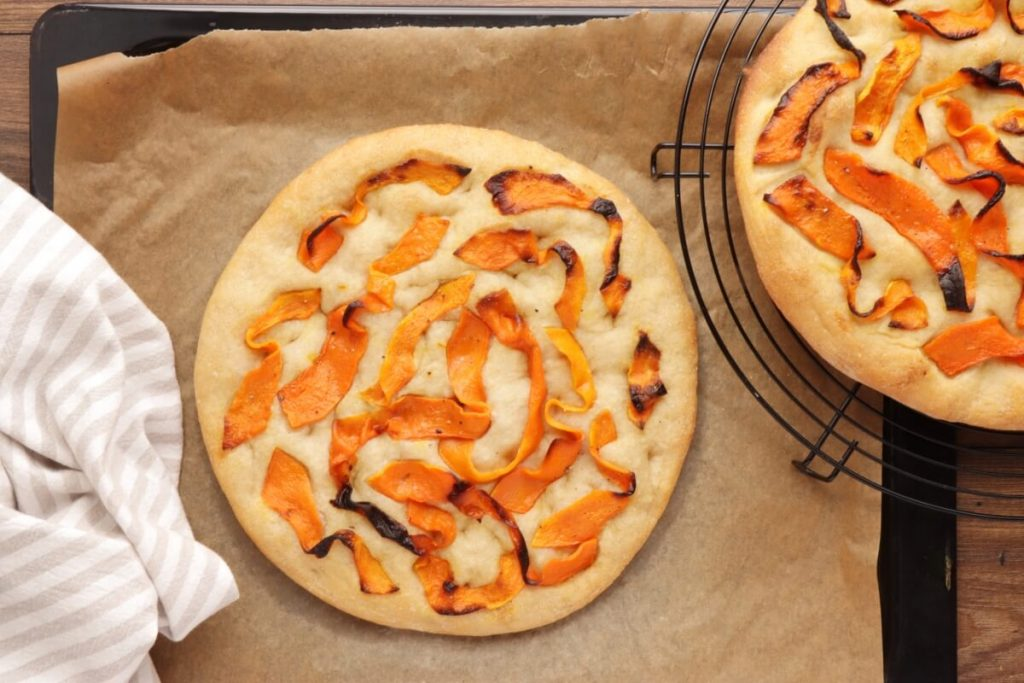 Focaccia with Roasted Squash recipe - step 10